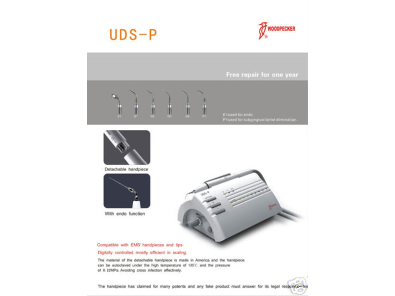 Zubní ultrazvuk Woodpacker UDP-LED